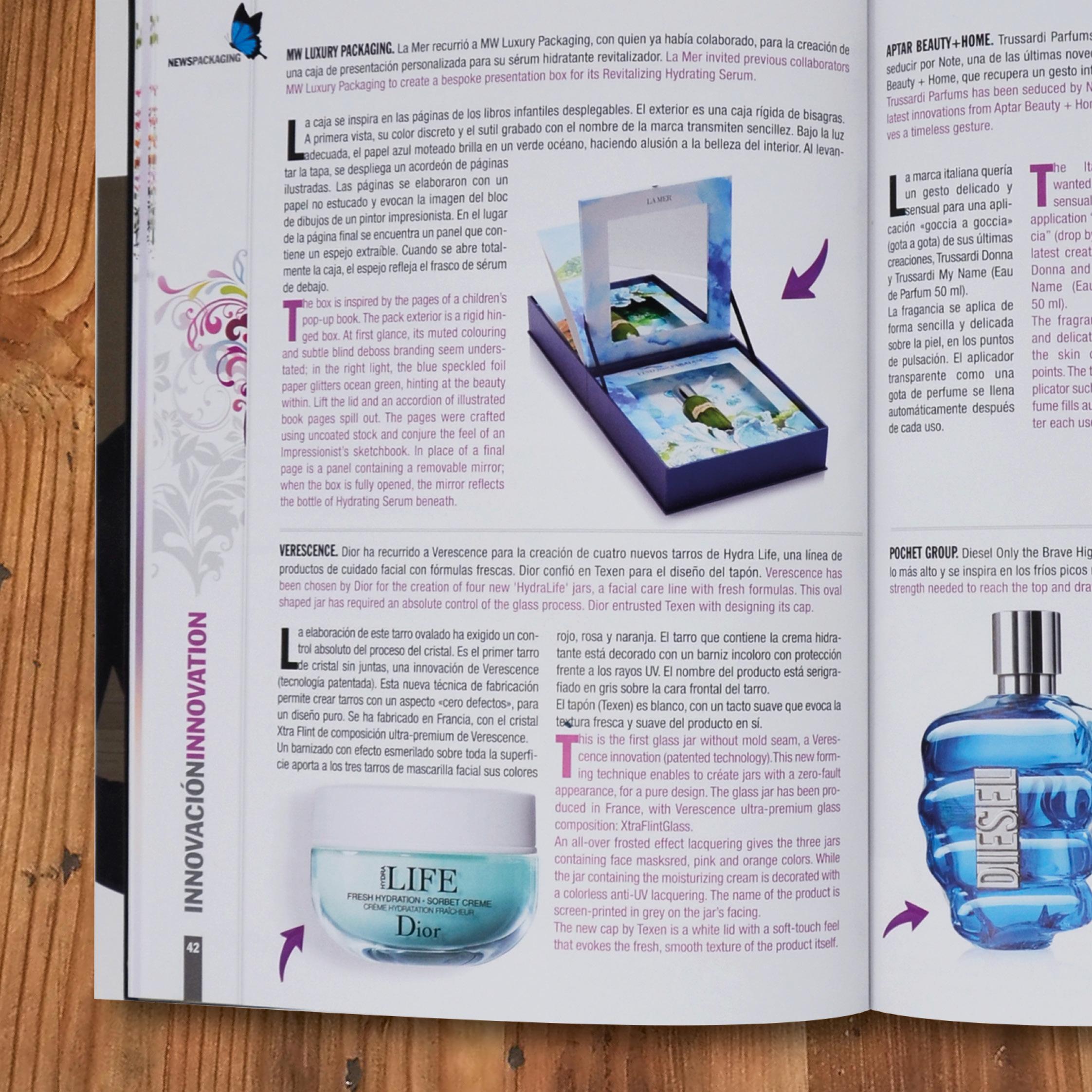 La Mer by MW Luxury Packaging in News Packaging